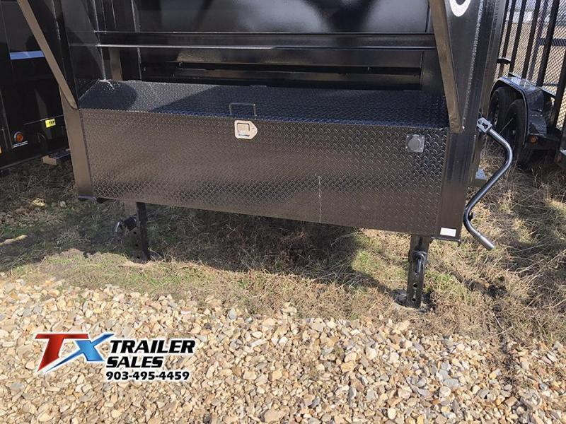 2021 East Texas 83'' X 16' X 3' Gooseneck Dump Trailer