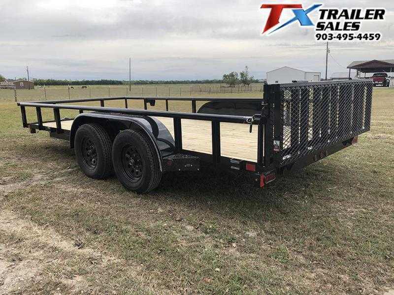 2020 East Texas 83 X 16 UTILITY 7K Utility Trailer