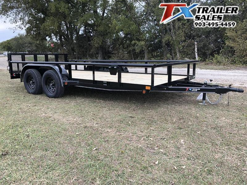 2021 East Texas 83 X 16 UTILITY 7K Utility Trailer