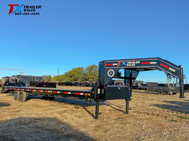 """2022 East Texas 102"""" X 35' GN HD DECK OVER 14K Flatbed Trailer"""