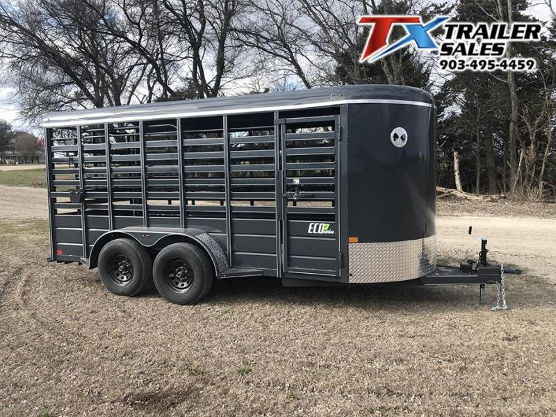 2020 BCI Trailers 16' x 6' Eco Series BP Livestock Trailer