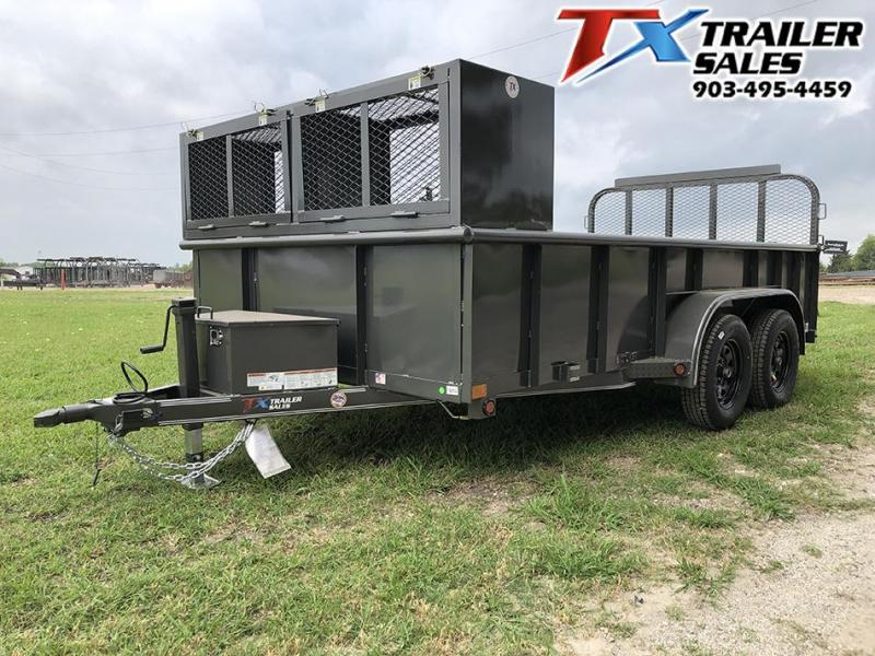2021 East Texas 83 X 14' LANDSCAPE TRAILER 7K Other Trailer