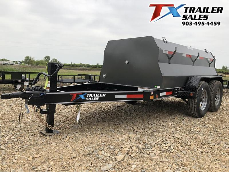 2021 East Texas 5 X 10 DIESEL TANK TRAILER WITH 990 GAL TANK 12K