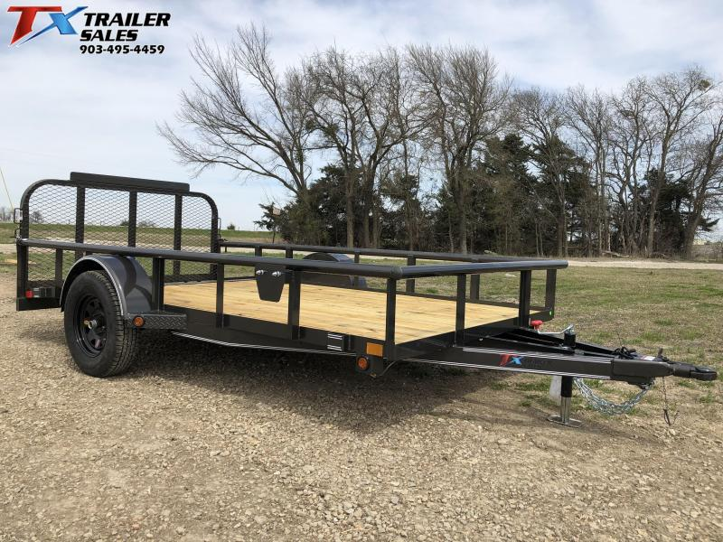"2021 East Texas 77"" X 12' Single Axle Utility Trailer"
