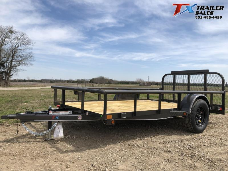 "2021 East Texas 77"" X 12' Single Axle Utility Trailer"