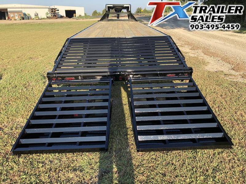 "2021 East Texas 102"" X 32' GOOSENECK HD DECK OVER 16K Flatbed Trailer"
