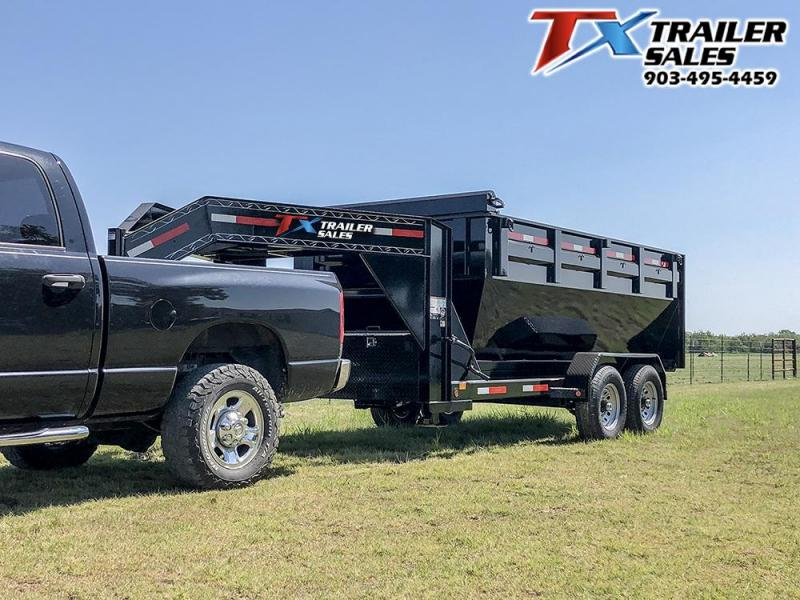 2021 East Texas GN ROLL OFF DUMP TRAILER 14K Dump Trailer