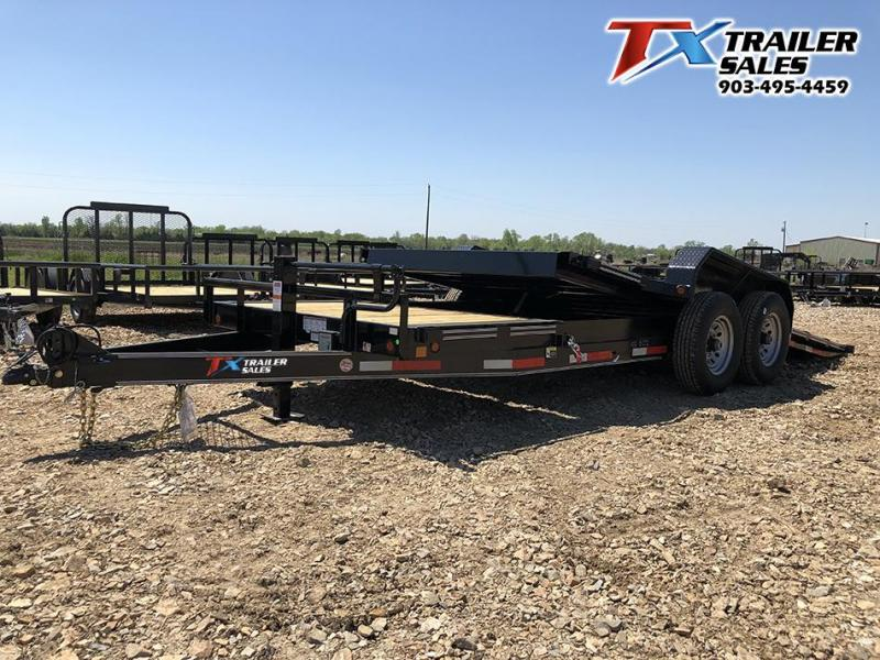 2021 83 X 20 TILT DECK 14K (16' TILT DECK 4' STATION Car / Racing Trailer