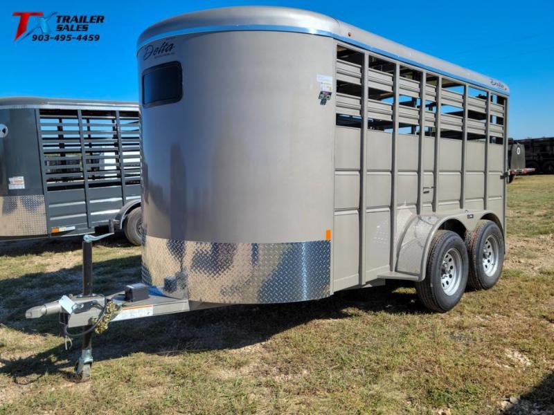 2021 Delta Manufacturing DELTA 600 DELUXE BUMPER PULL LIVE STOCK Livestock Trailer