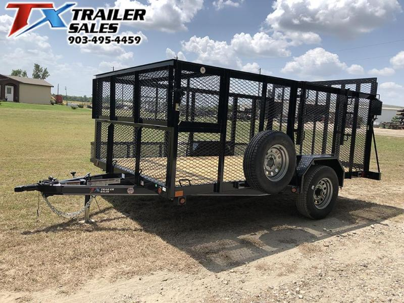 "2021 East Texas 83"" X 12' SINGLE AXLE LANDSCAPE 5K Utility Trailer"
