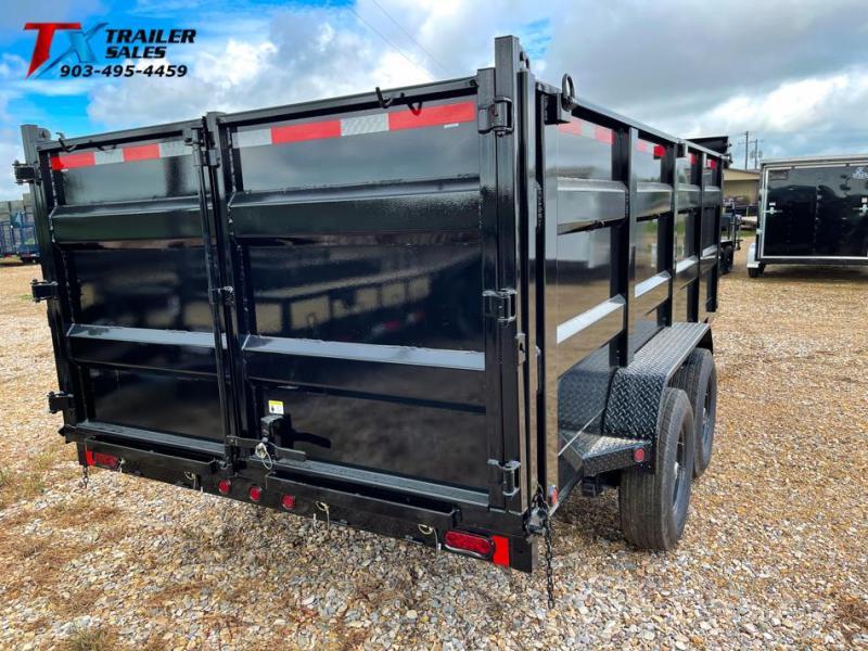 2021 East Texas 83'' X 16' X 4' Gooseneck Dump Trailer