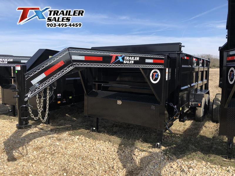 2021 East Texas 83'' X 16' X 4' Gooseneck Dump Trailer