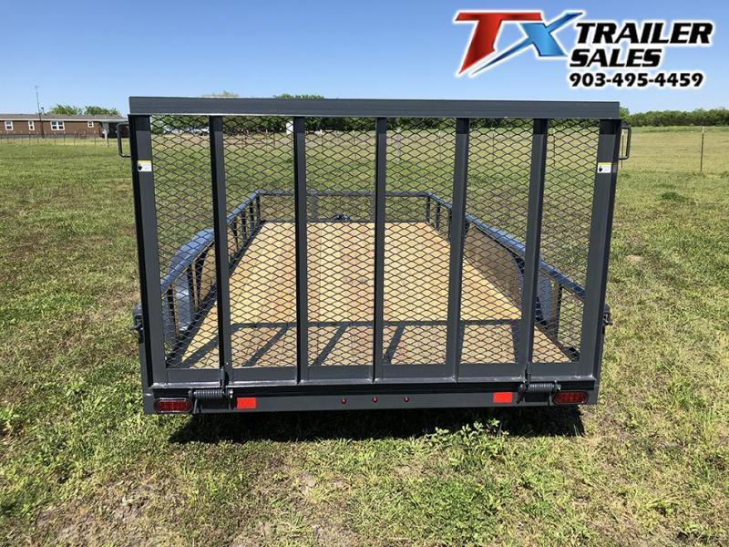 "2021 East Texas Trailers 83"" X 16' CLASSIC UTILITY 7K Utility Trailer"