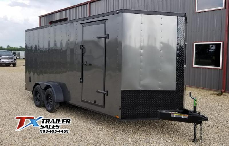 2020 LARK 7' X 18' TA 7K ENCLOSED CARGO TRAILER