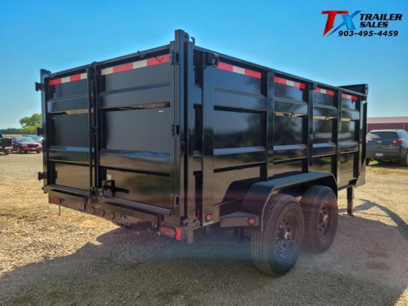 "2022 East Texas 83"" X 14' GN DUMP 14K Dump Trailer"