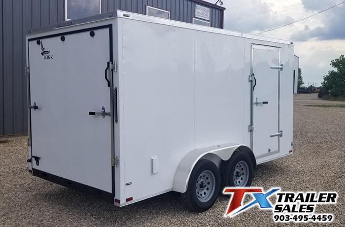 2021 Lark 7' X 14' TA 7K Enclosed Cargo Trailer