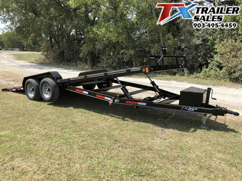 "2021 East Texas 83"" X 20' TONGUE DROP TILT DECK 10K Car / Racing Trailer"
