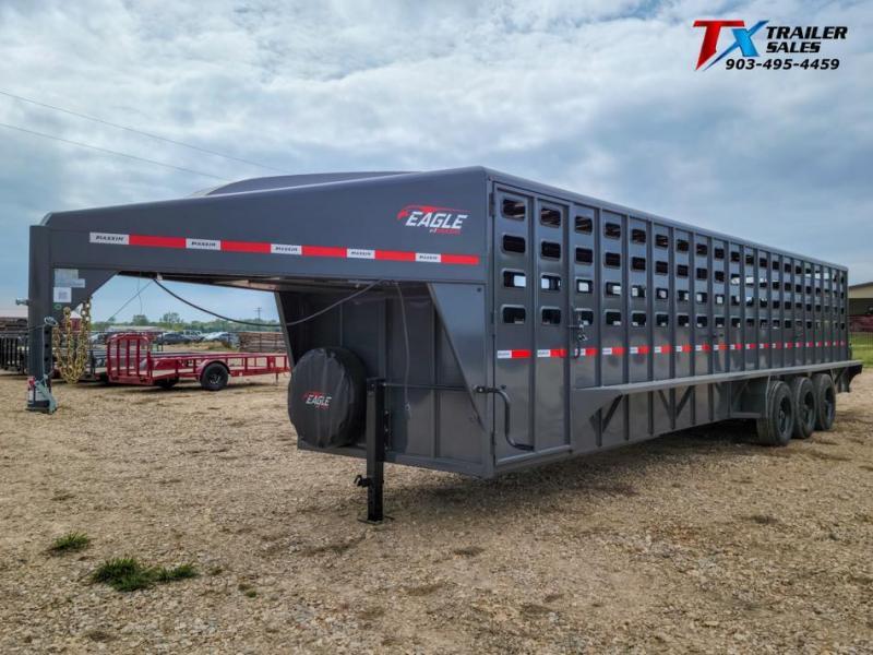 2022 Maxxim Industries 6'.8'' X 32' GOOSENECK LIVESTOCK TRAILER 24K Livestock Trailer