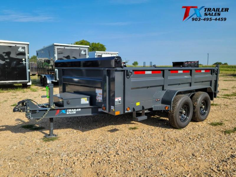 "2022 East Texas 83"" X 12' BP DUMP 12K Dump Trailer"