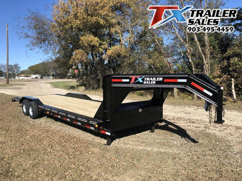 "2021 East Texas 102"" X 28' GN LOW BOY EQUIPMENT 14K Equipment Trailer"