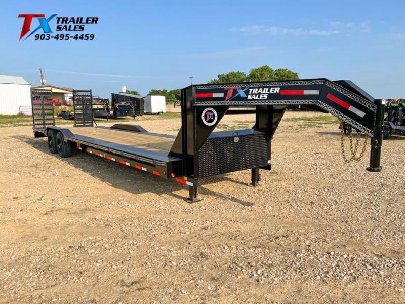 "2021 East Texas 102"" X 32' GN LOW BOY EQUIPMENT 20K Equipment Trailer"