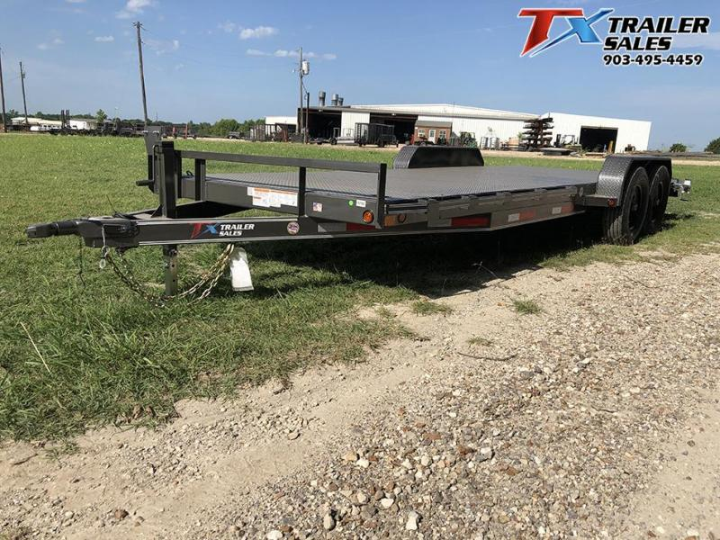 "2021 East Texas 83"" X 22' CAR HAULER/EQUIPMENT 12K Car / Racing Trailer"