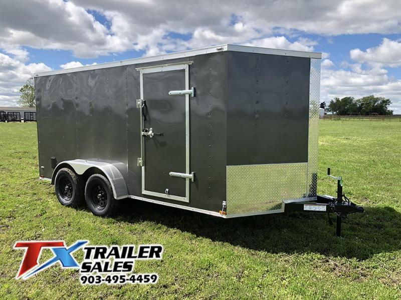 2020 Lark 7' X 14' TA 7K Enclosed Cargo Trailer