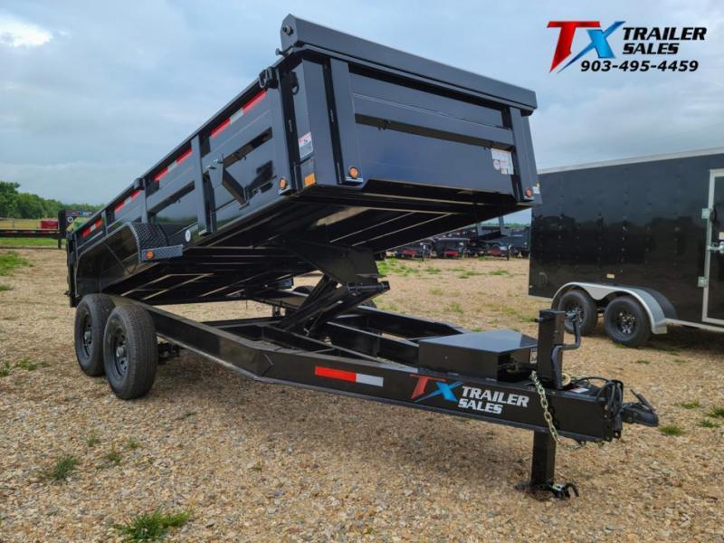 "2022 East Texas 83"" X 16' BP DUMP 14K Dump Trailer"