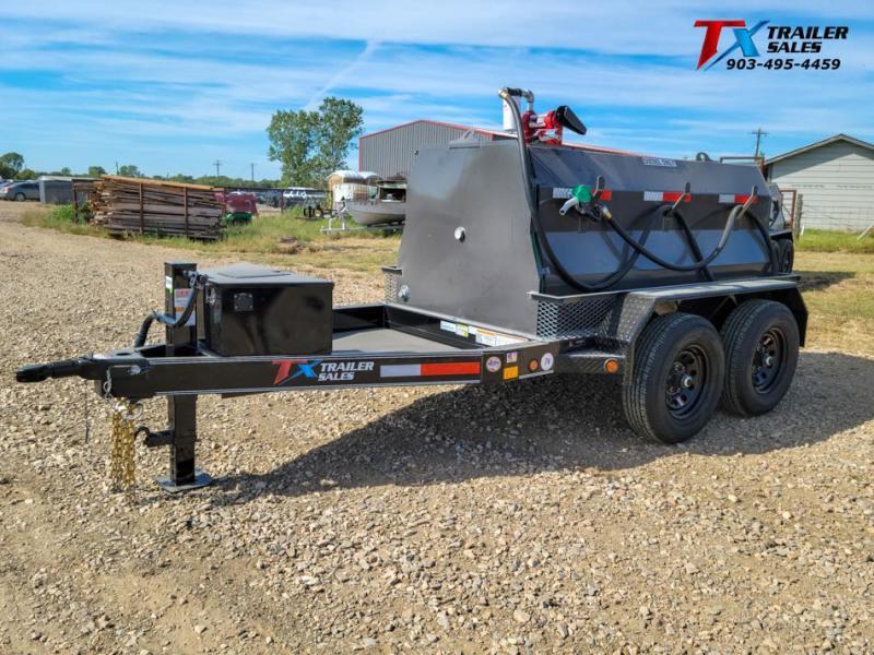 2022 East Texas 5' X 8' DIESEL TANK TRAILER WITH 600 GAL TANK 12K Tank Trailer