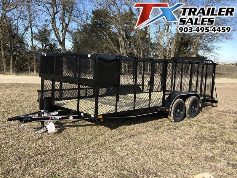 "2021 East Texas 83"" X 16' LANDSCAPE 7K Trailer"