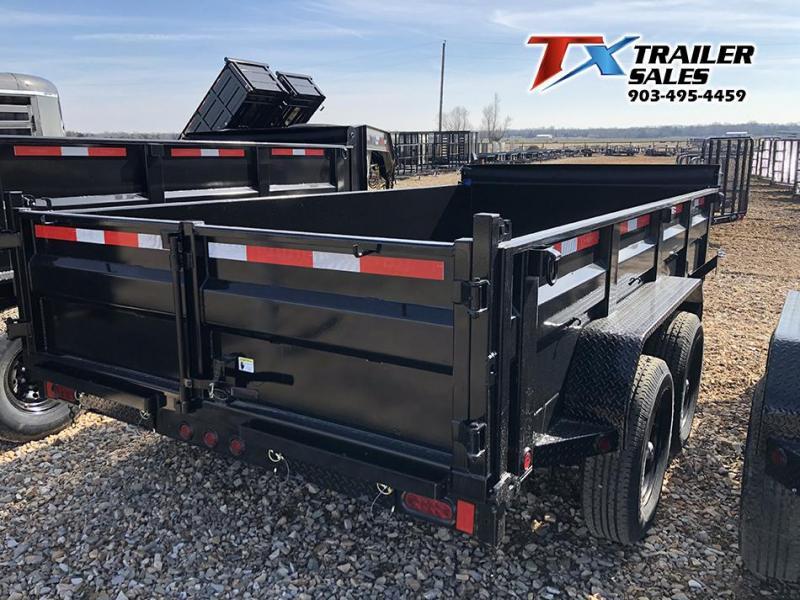 2021 East Texas 83'' X 14' X 2' Bumber Pull Dump Trailer