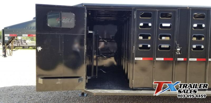 2021 Maxxim Industries 6' 8'' x 24' Livestock Trailer