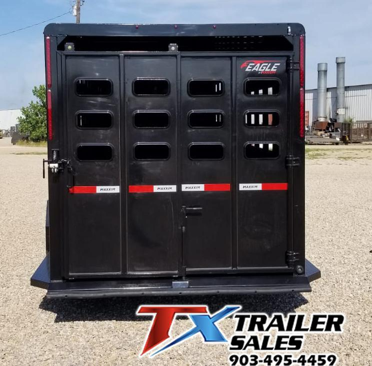 2020 Maxxim Industries 6' 8'' x 24' Livestock Trailer
