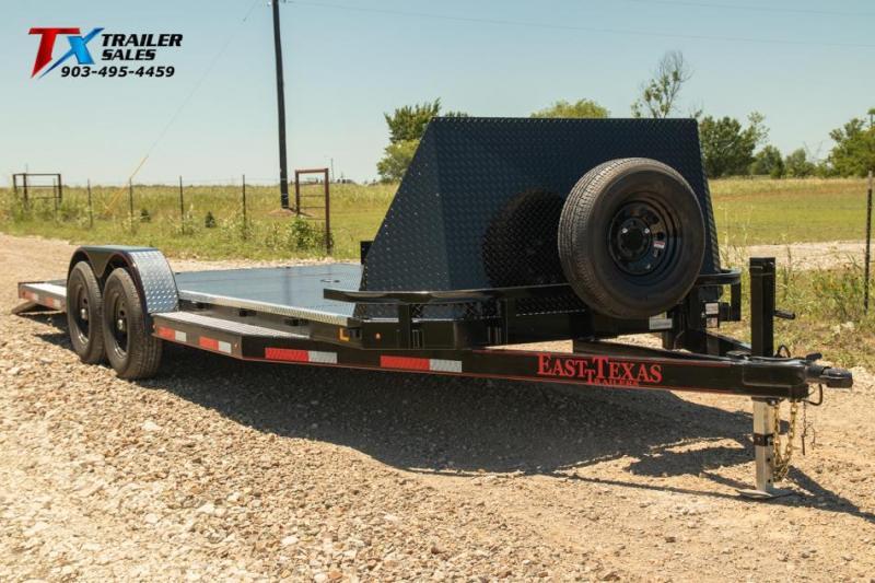 "2022 East Texas 83"" X 20' DREAM HAULER 12K Car / Racing Trailer"