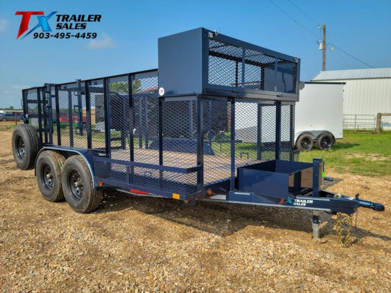 "2021 East Texas 83"" X 14' LANDSCAPE 12K Utility Trailer"