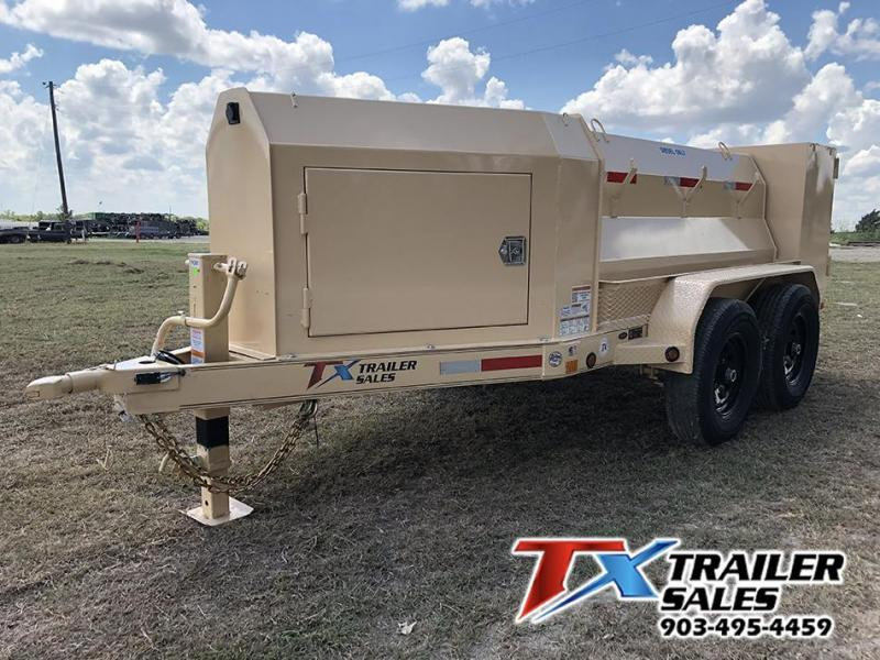 2020 East Texas 5 X 8 DIESEL TANK TRAILER WITH 600 GAL TANK 12K Tank Trailer