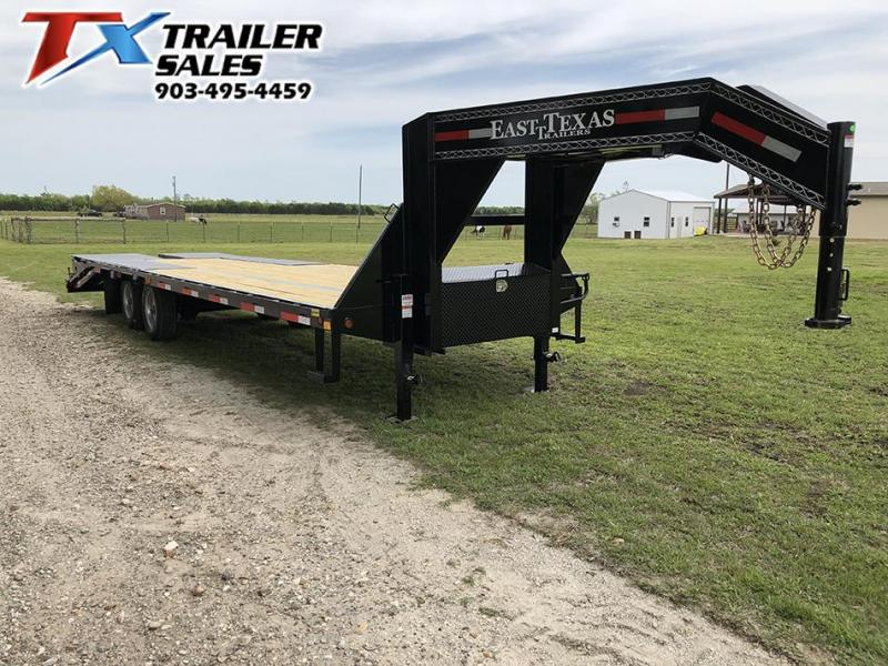 2020 East Texas 102 X 28 GOOSENECK HD DECK OVER 20K Flatbed Trailer