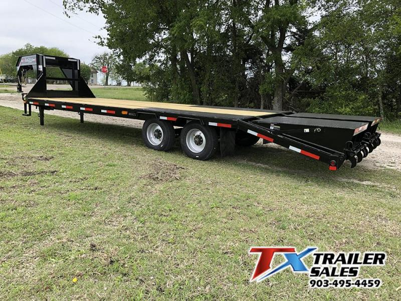 2021 East Texas 102 X 28 GOOSENECK HD DECK OVER 20K Flatbed Trailer