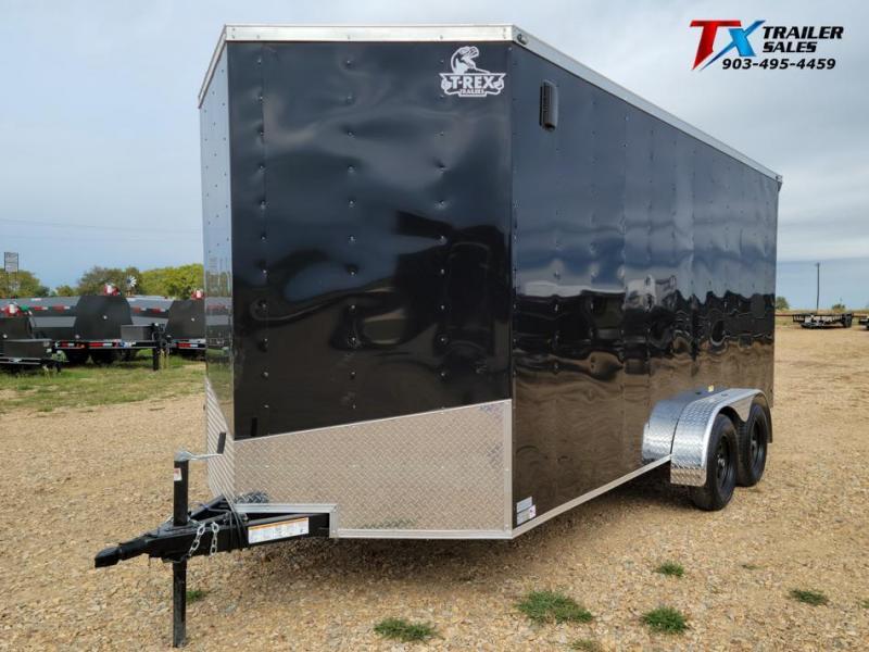 2021 T-Rex Trailers 7' X 16' X 84'' T-REX ENCLOSED CARGO 7k Enclosed Cargo Trailer
