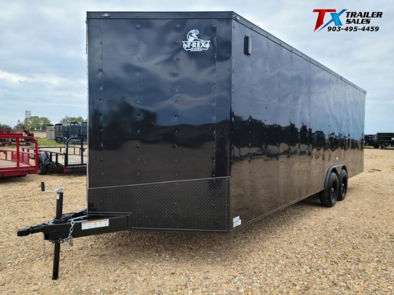 2022 East Texas 8.5' X 24' X 84'' T-REX ENCLOSED CARGO 10k Enclosed Cargo Trailer