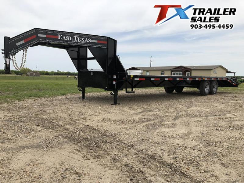 2021 East Texas 102 X 30 GN HD DECK OVER 16K Flatbed Trailer