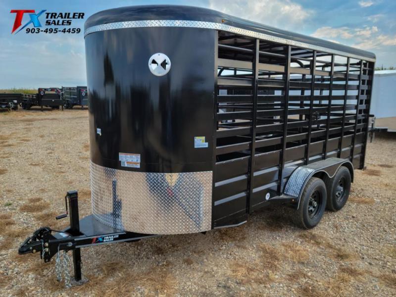 "2022 East Texas 69"" X 16' BP 12K LIVESTOCK TRAILERS Livestock Trailer"