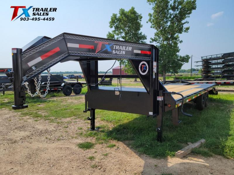 """2022 East Texas 102"""" X 25' GN HD DECK OVER 14K Flatbed Trailer"""
