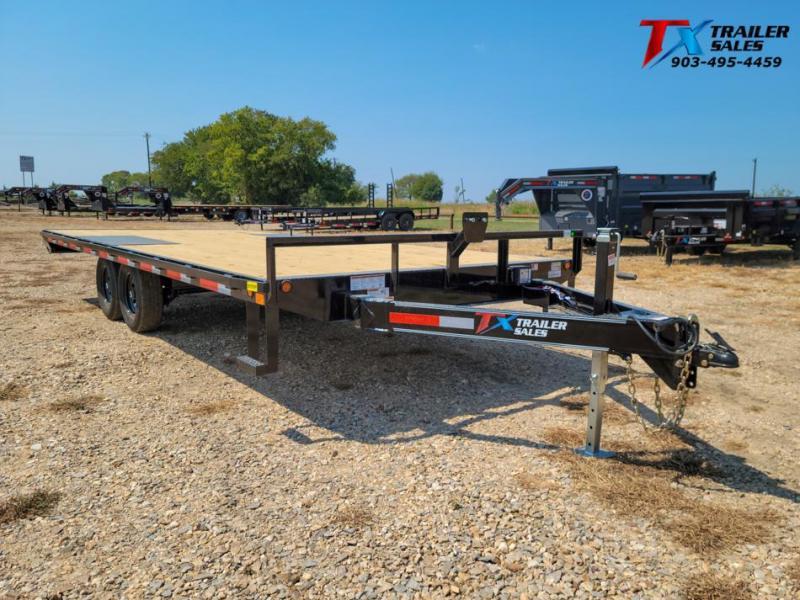"2022 East Texas 102"" X 20' BP DECK OVER 12K Flatbed Trailer"