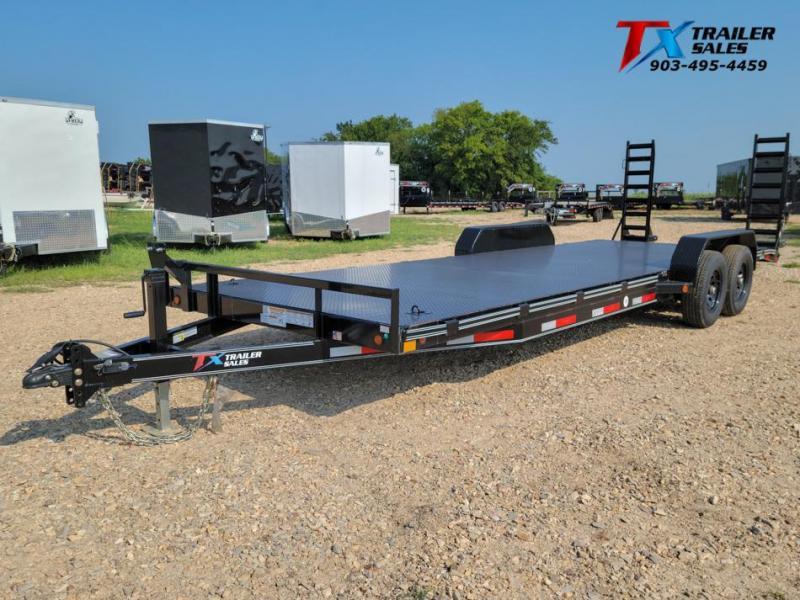"2021 East Texas 83"" X 24' CAR HAULER/EQUIPMENT 12K Car / Racing Trailer"