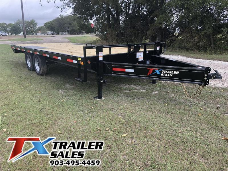 2021 East Texas 102 X 20 BP DECK OVER 14K Flatbed Trailer