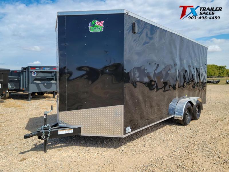 2021 T-Rex Trailers 7' X 18' X 84'' T-REX ENCLOSED CARGO 7k Enclosed Cargo Trailer