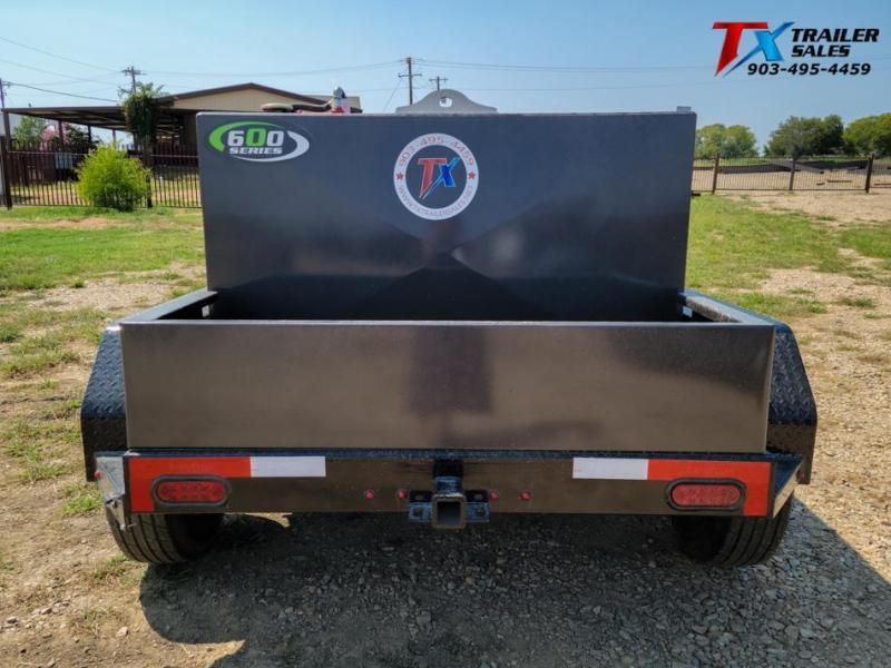 2022 East Texas 5' X 6' DIESEL TANK TRAILER WITH 600 GAL SQ. TANK Tank Trailer