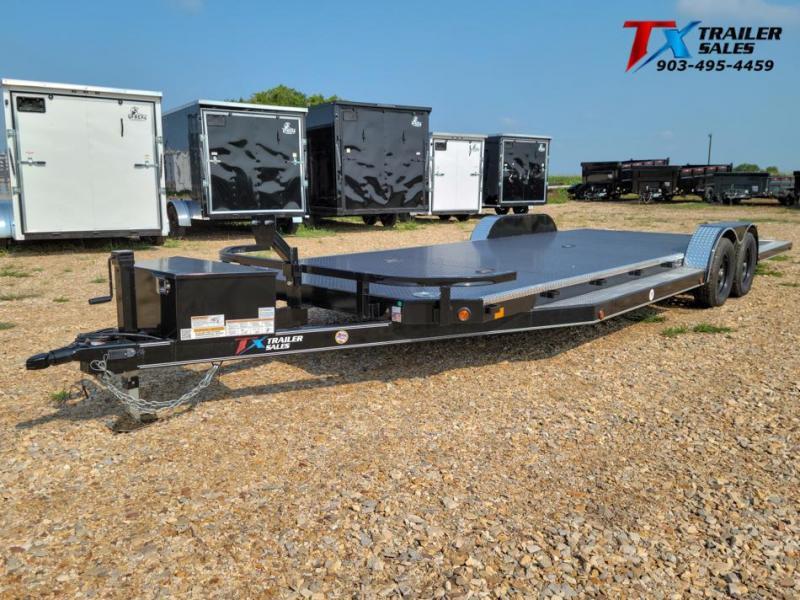 "2021 East Texas 83"" X 24' DREAM HAULER 7K Car / Racing Trailer"