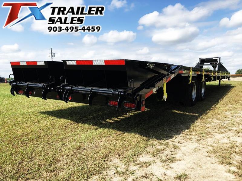 2021 East Texas 102'' X 40' GOOSENECK DECK OVER/HOT SHOT / Flatbed Trailer